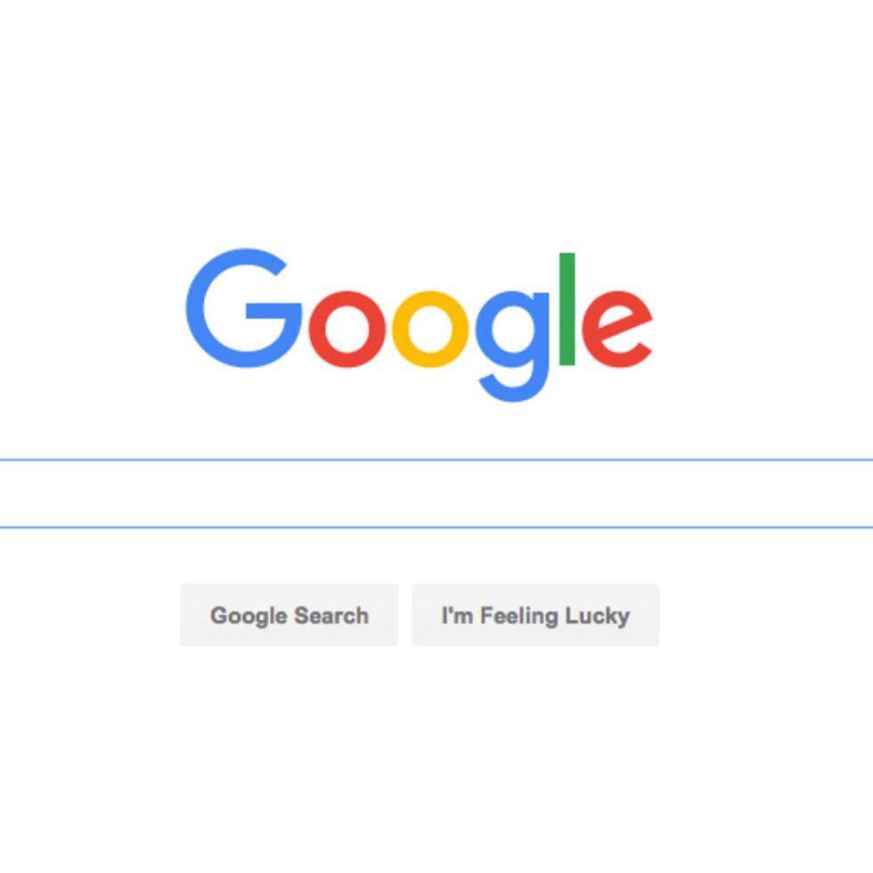 Google search screenshot