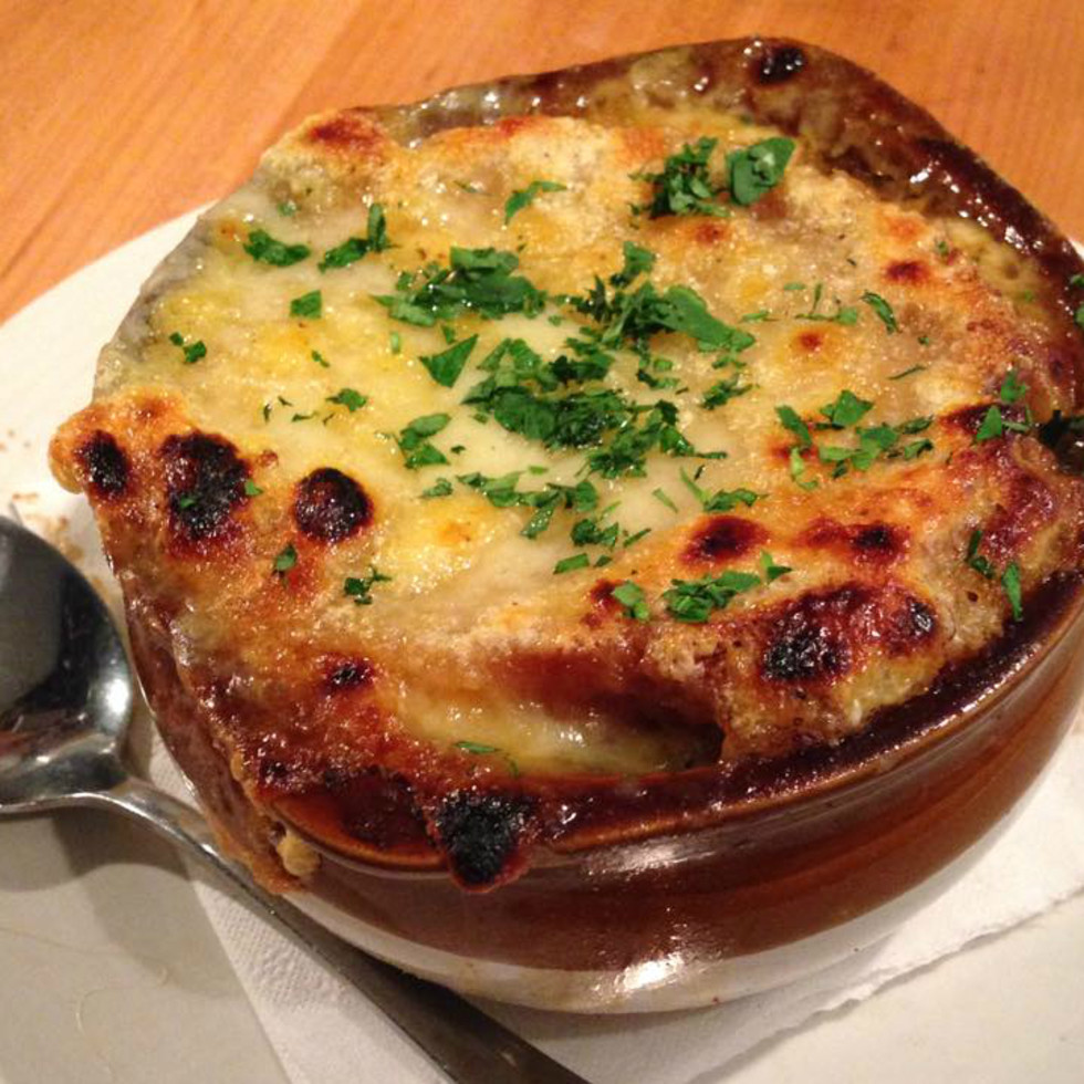 Epicerie restaurant French onion soup