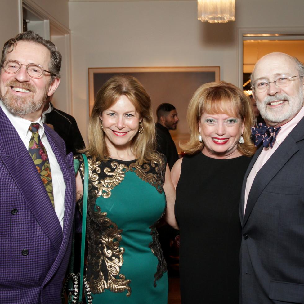 News, Legacy Holiday Schmooze, Dec. 2015, David Groover, Cheryl Byington, Karen Wildenstein, C.C. Conner