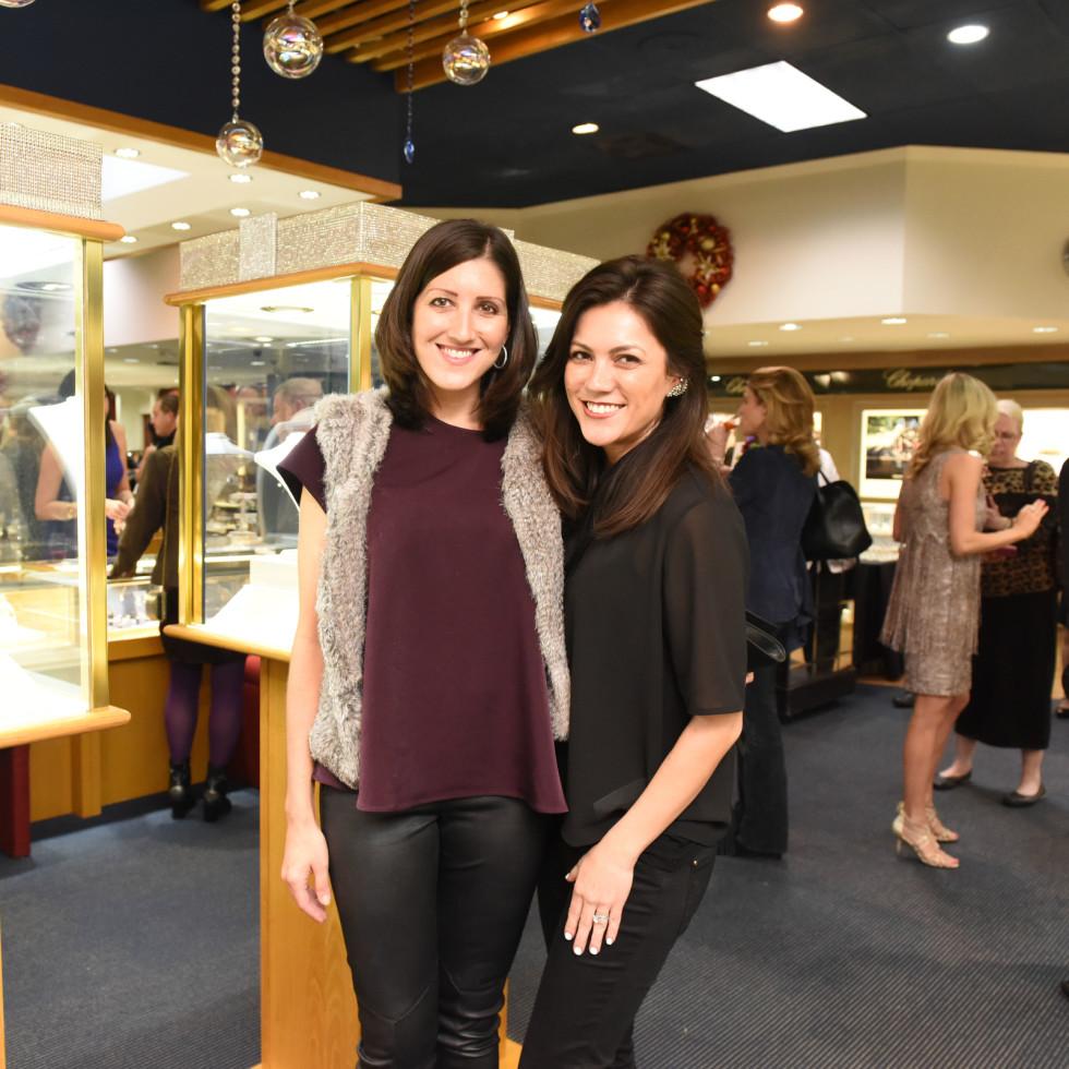 News, Zadoks Holiday Party, Dec. 2015, Caroline Brown, Alana Highberge