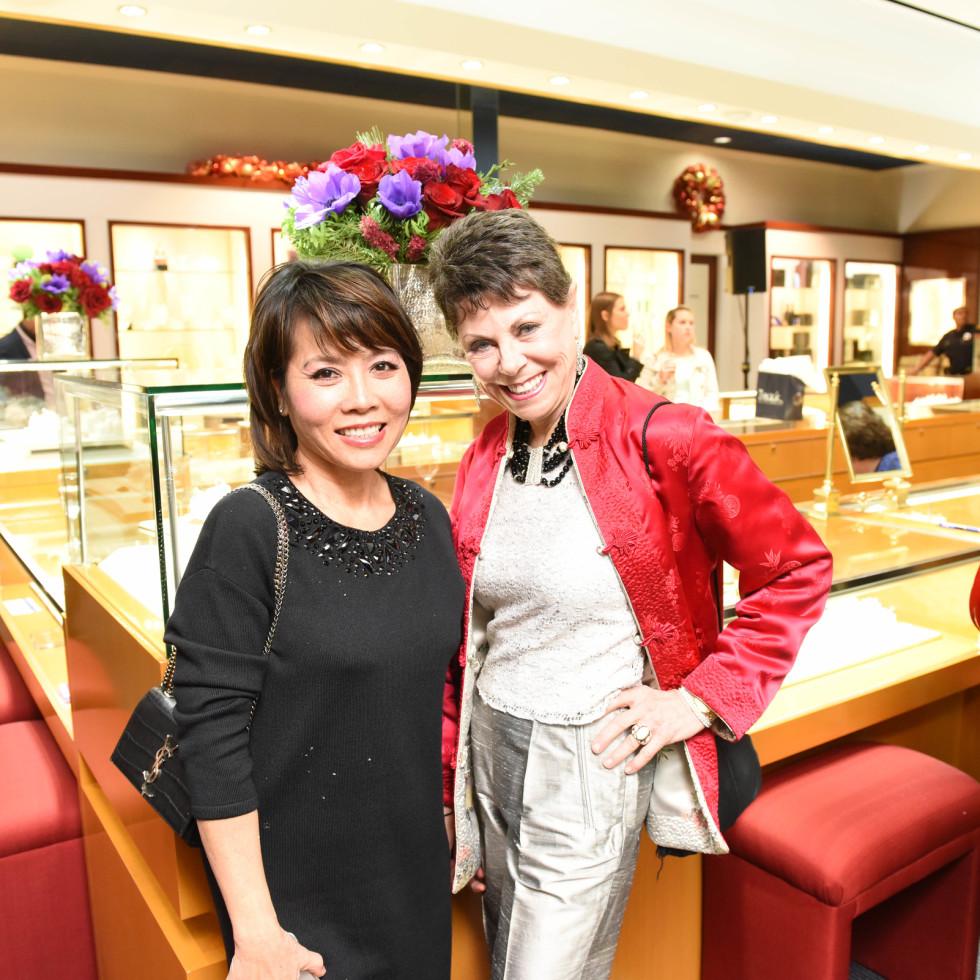 News, Zadoks Holiday Party, Dec. 2015,Christine Nguyen, Sylvia Brauer