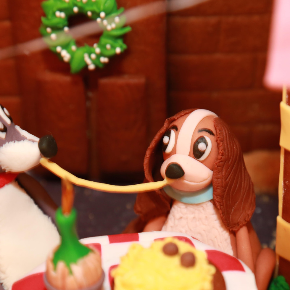 Gingerbread dog house Pour Society