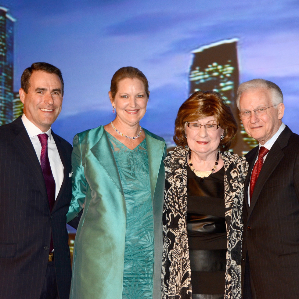 News, Houston Treasures, Dec. 2015, Steve Mach, Joella Mach, Cora Sue Mach, Harry Mach
