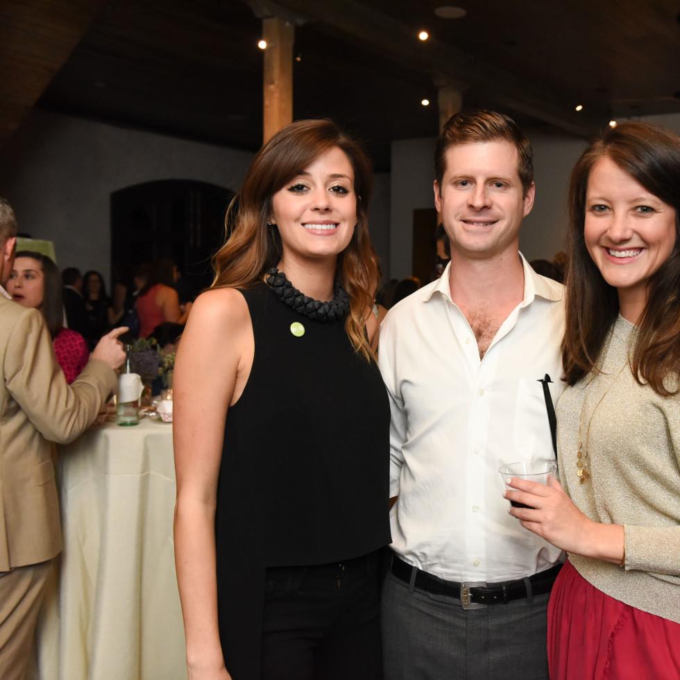 News, Pier & Beam party, Dec. 2015, Olivia Persia, Lloyd French, Alice Johnson