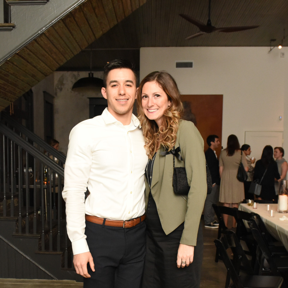 News, Pier & Beam party, Dec. 2015, Josh Salas, Whitney Gealy