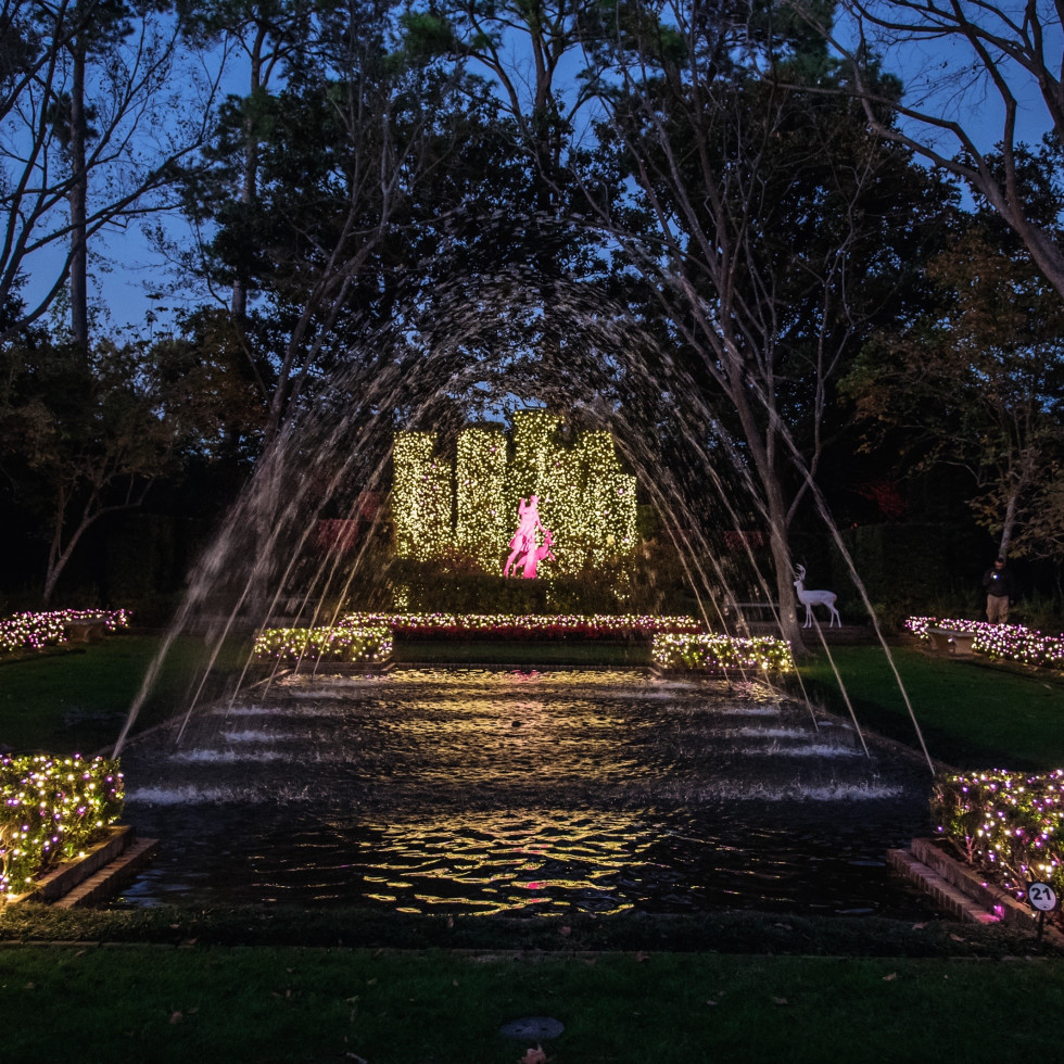 News, Bayou Bend Christmas Village, Dec. 2015