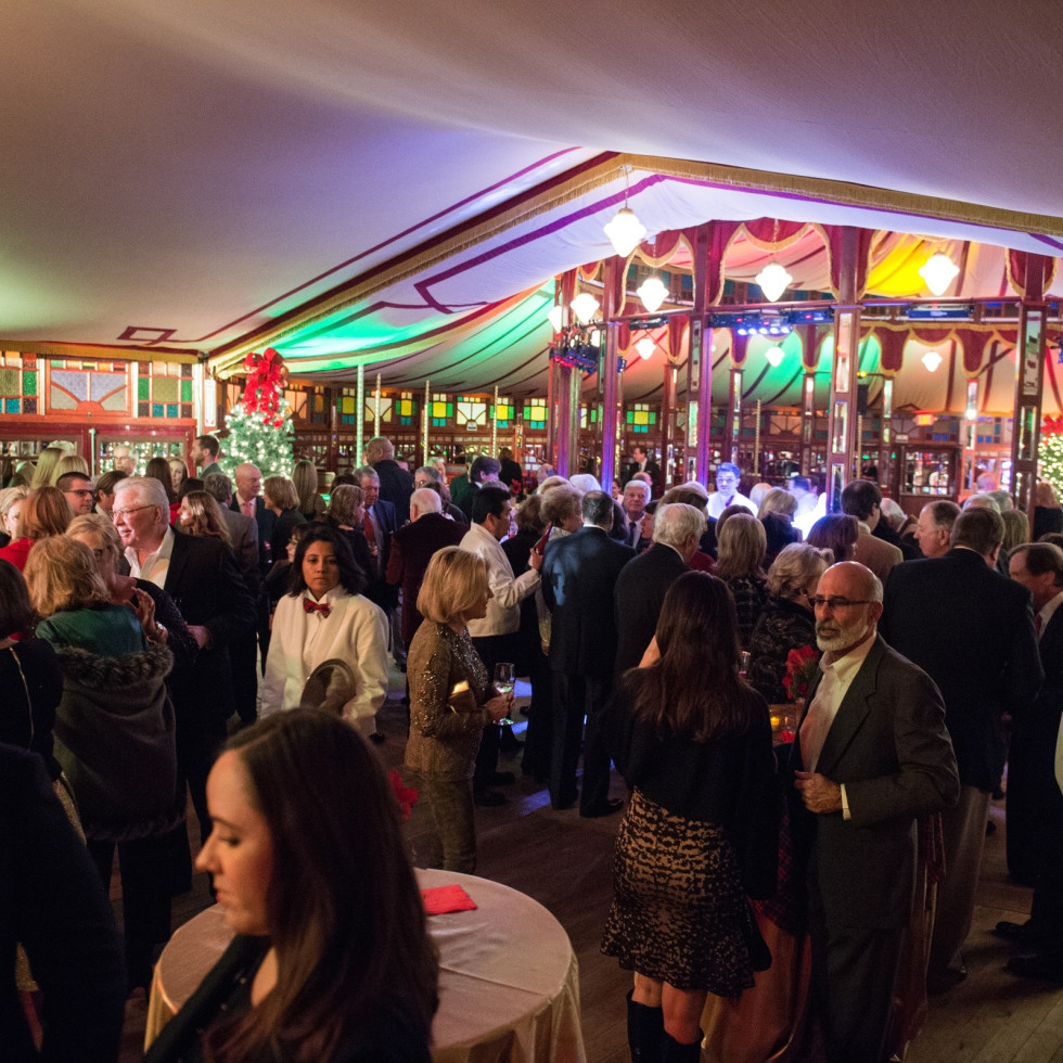 News, Bayou Bend Spiegeltent, Dec. 2015