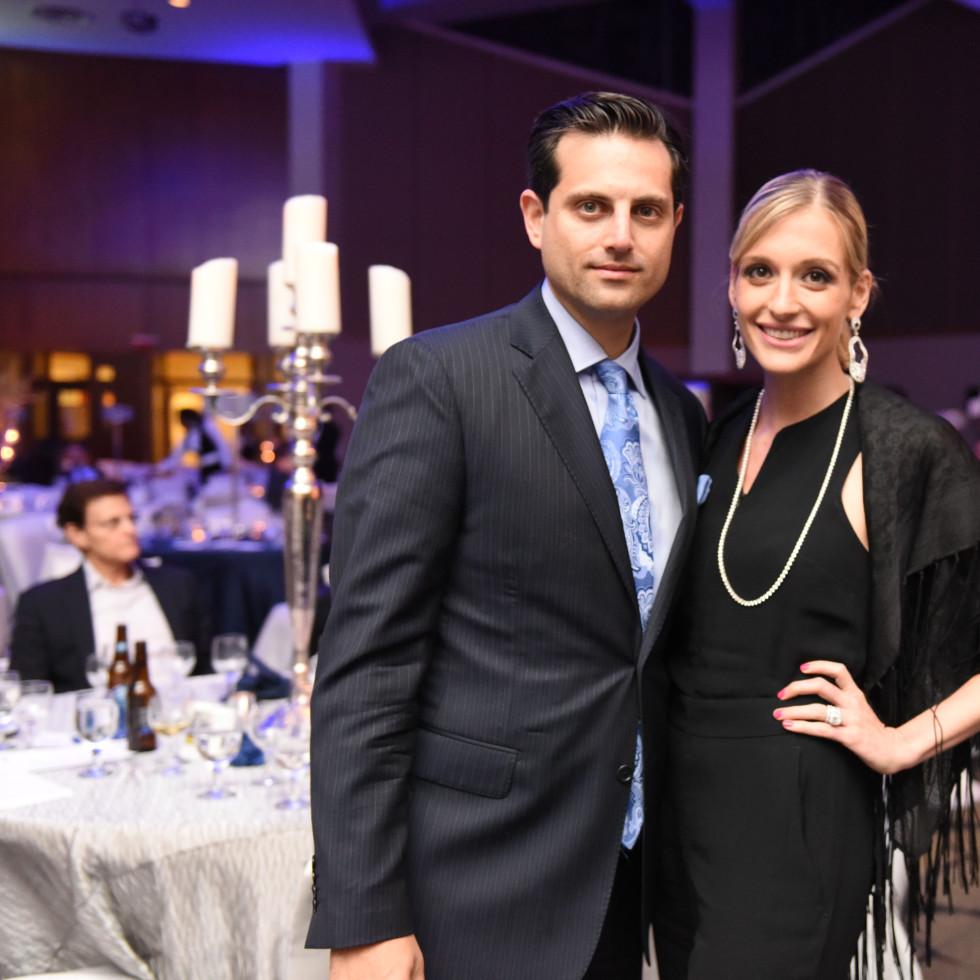 Houston, Beth Yeshurun Day School gala, December 2015, Jonathan and Michelle Zadok