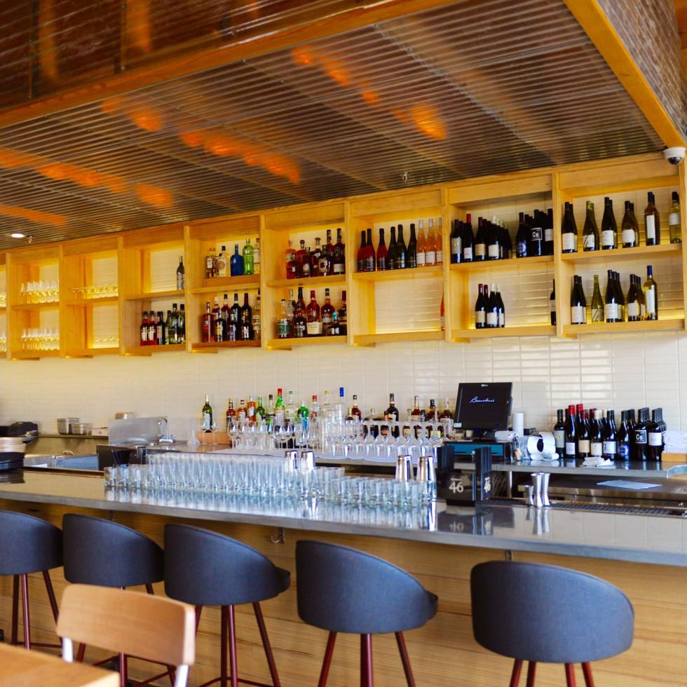 Bernadine's bar interior