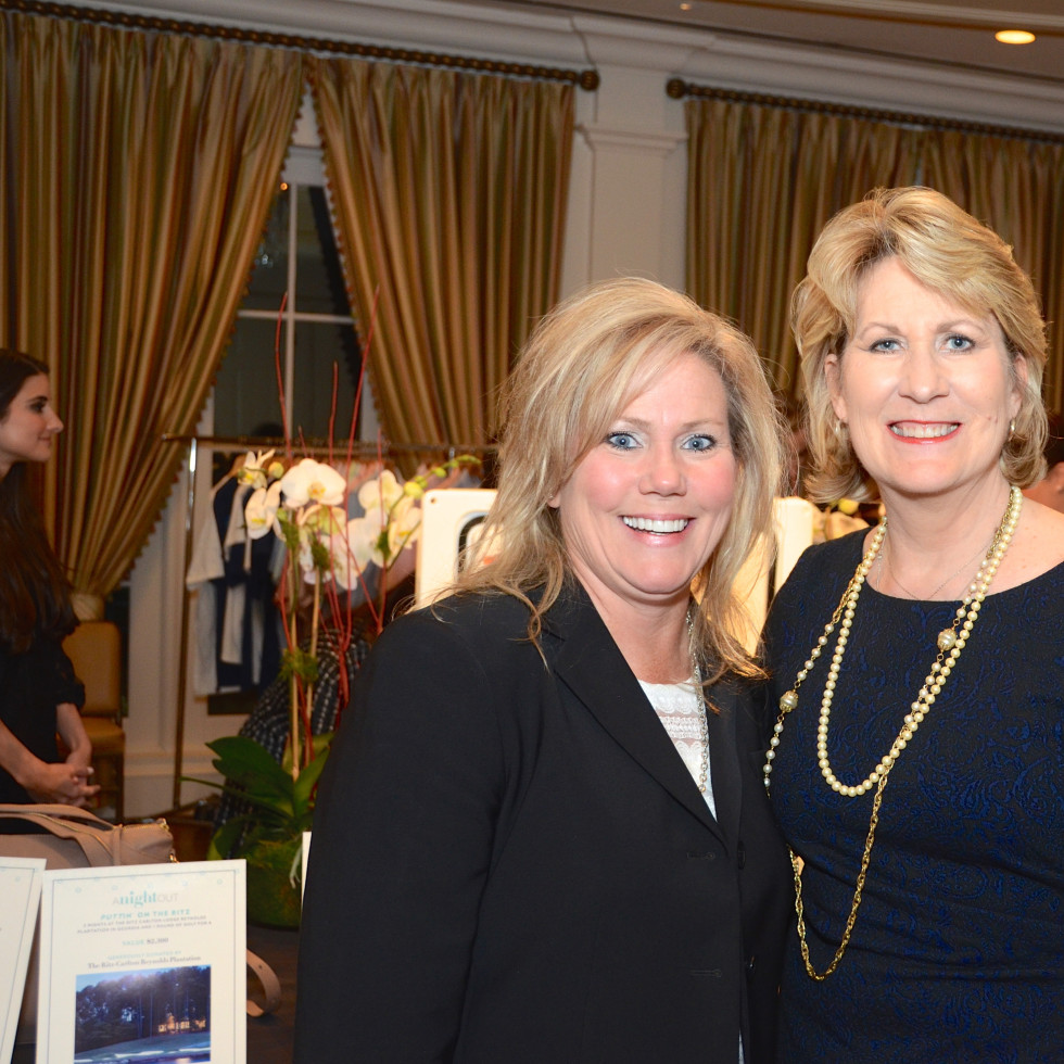 Houston, Dress for Success A Night Out Event, November 2015, Tracy Martin, Bonny McLoud.