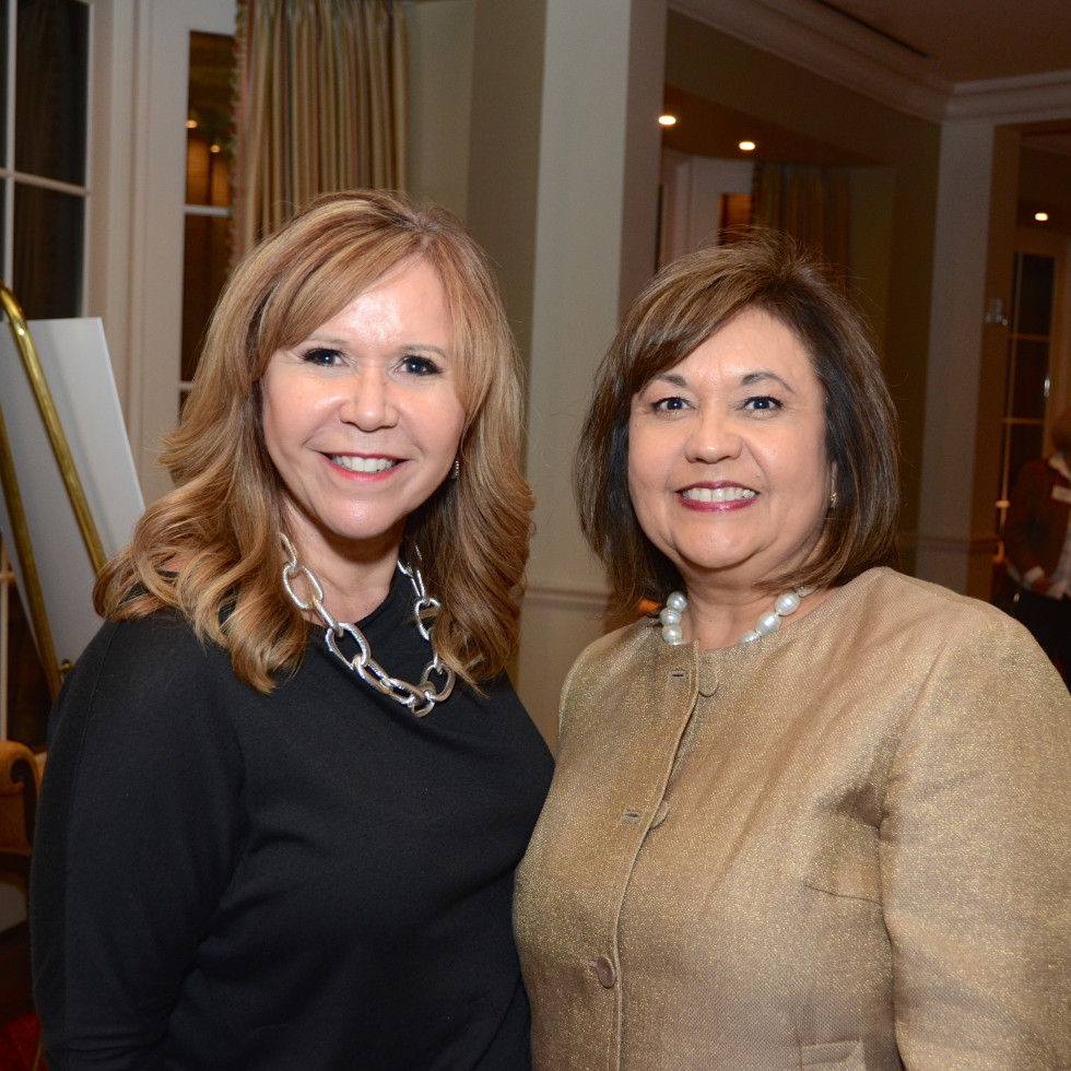 Houston, Dress for Success A Night Out Event, November 2015, Cyndy Garza-Roberts, Leticia Lowe