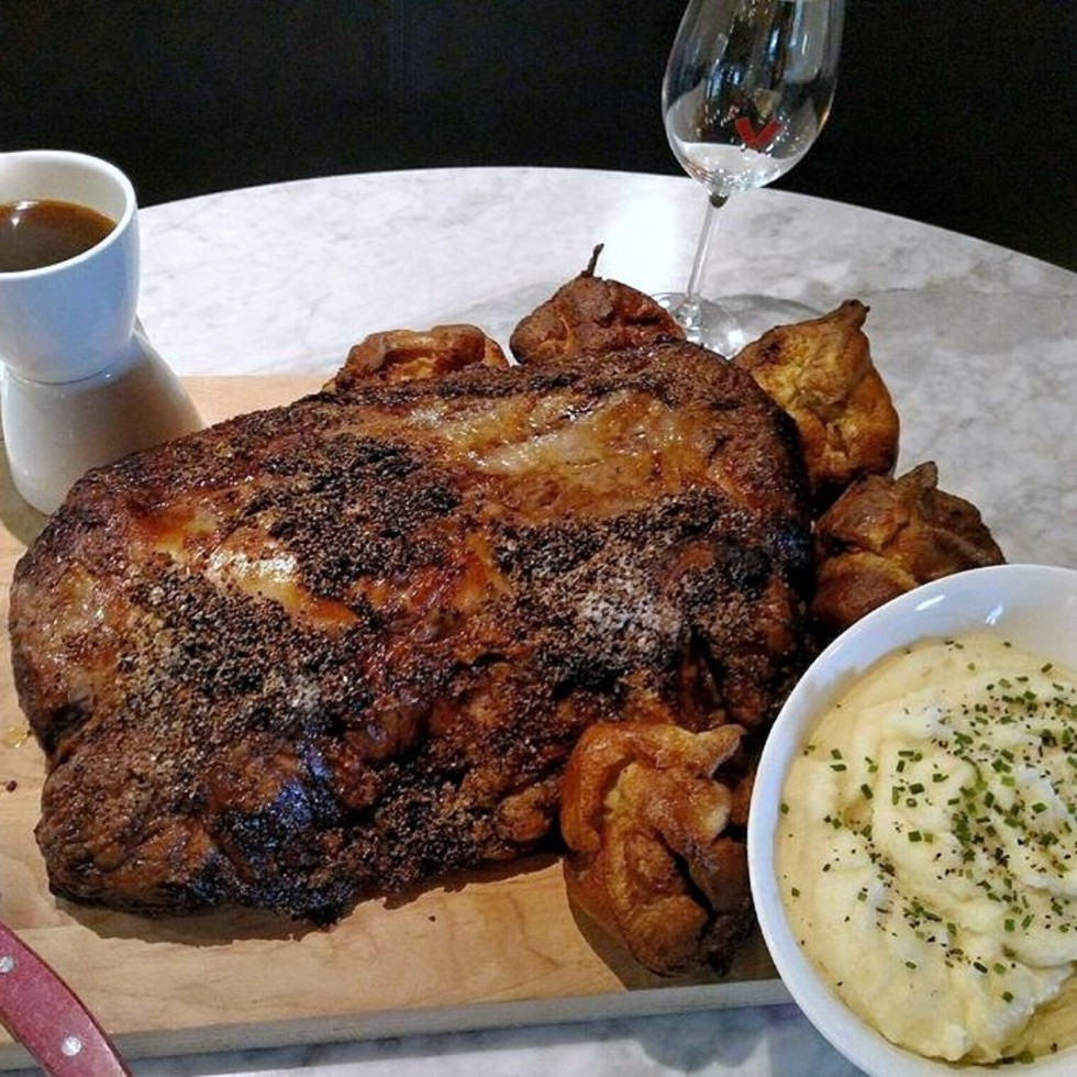 Houston, B&B Butchers and Restaurant, November 2015, Thanksgiving turkey