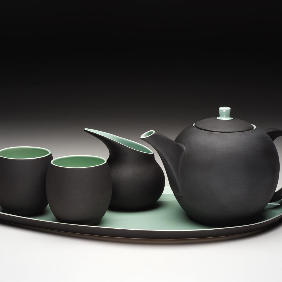 Japanese ceramic tea set at the Lotus Shop
