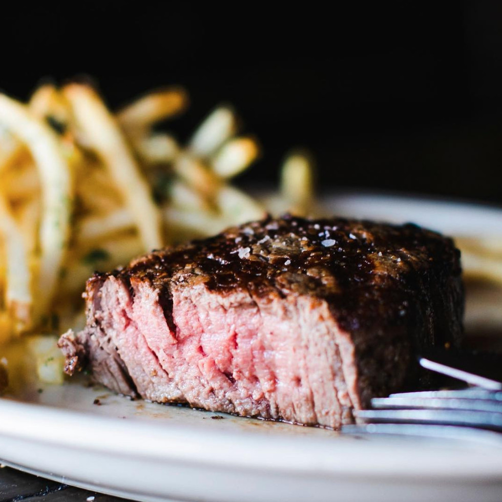 Steak and french fries generic