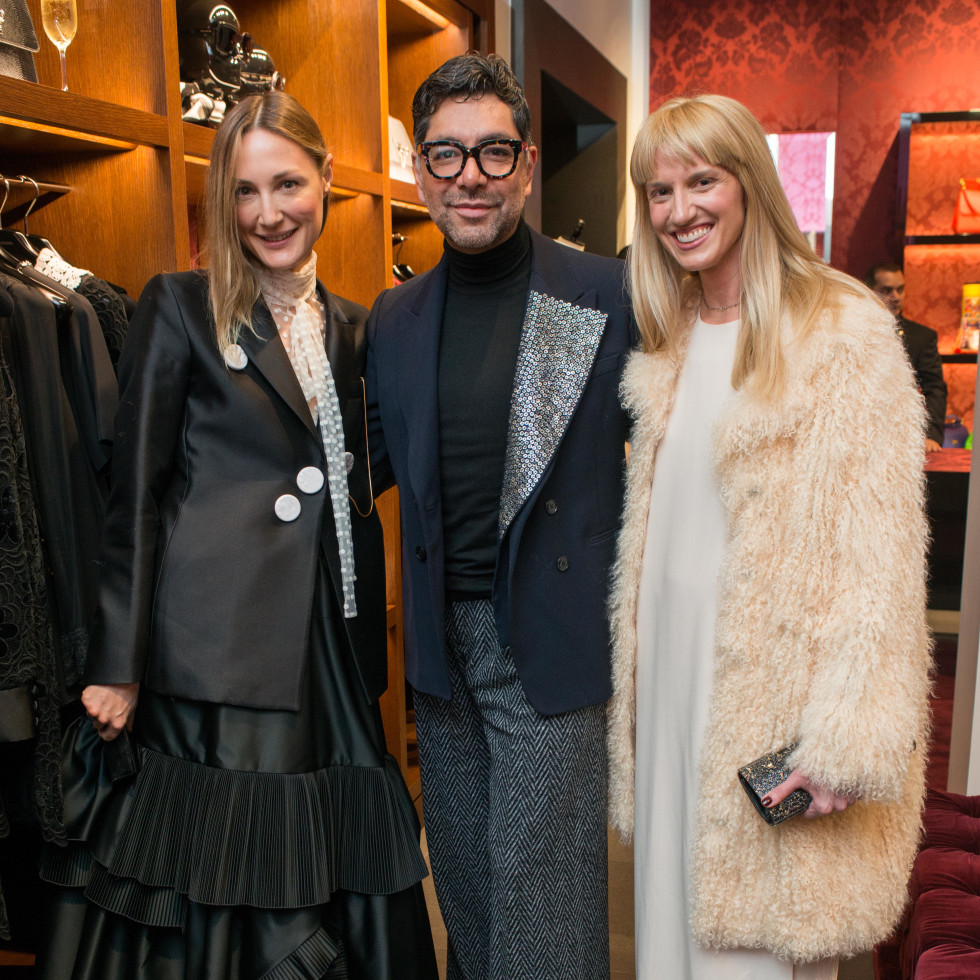 News, Shelby, Dolce & Gabbana dinner, Nov. 2015, Tatiana Massey, Ceron, Chris Goins