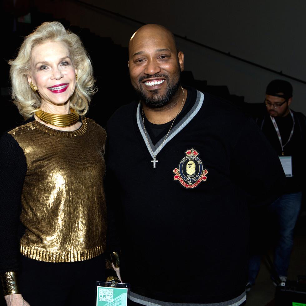 Houston, Cinema Arts Fest opening night, November 2015, Lynn Wyatt, Bun B