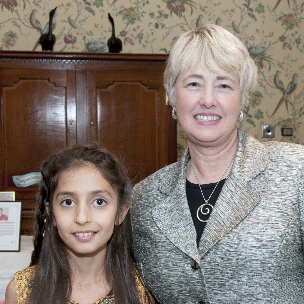 WITS Gala Lila Mankad, Annise Parker