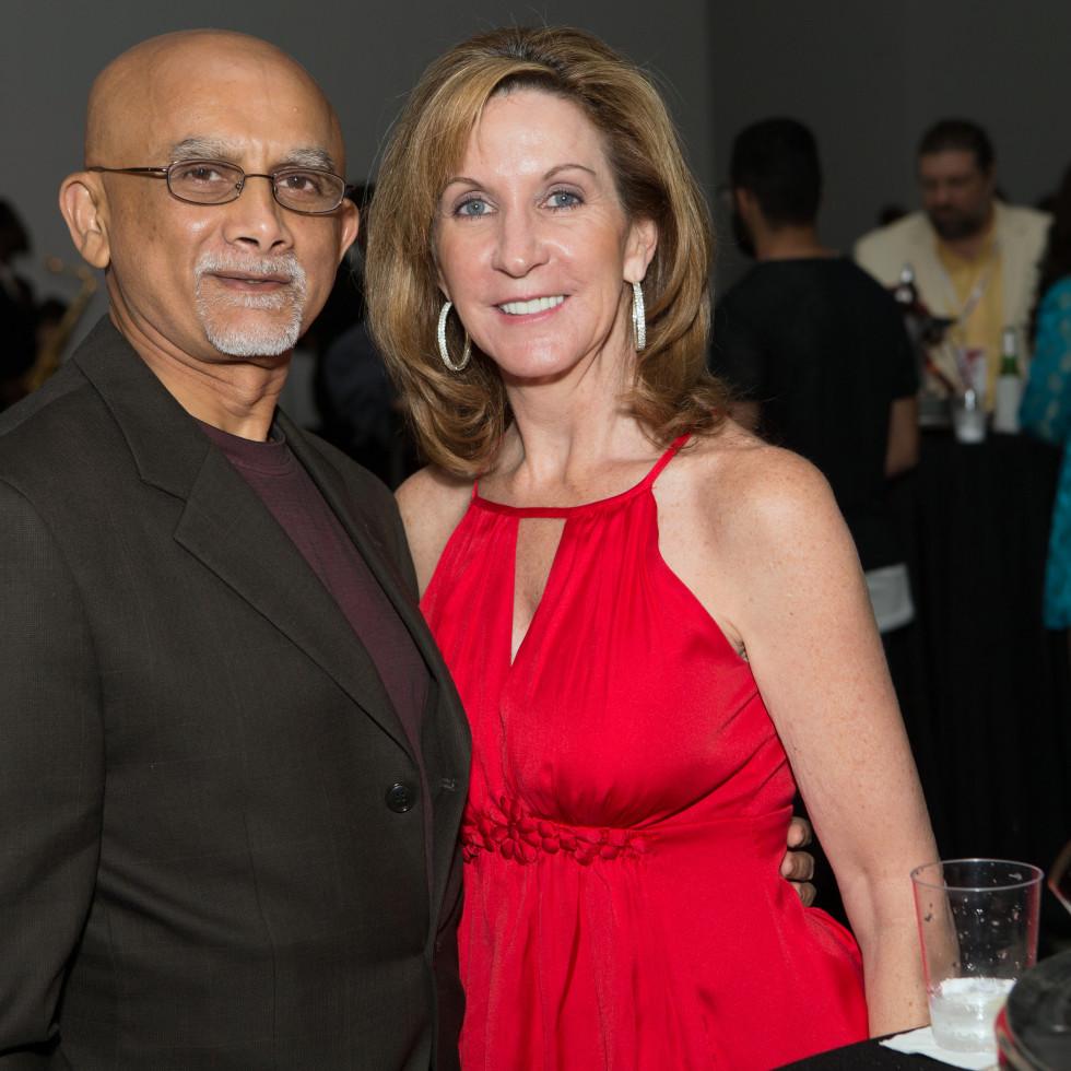 Houston, Cinema Arts Fest opening night, November 2015, Iqbal Nagji, Barbara Nagji