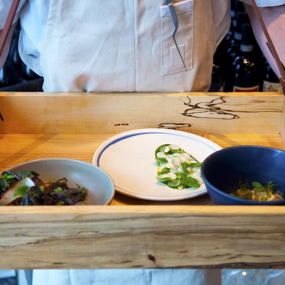 Emmer and Rye 2015 Austin restaurant dim sum tray