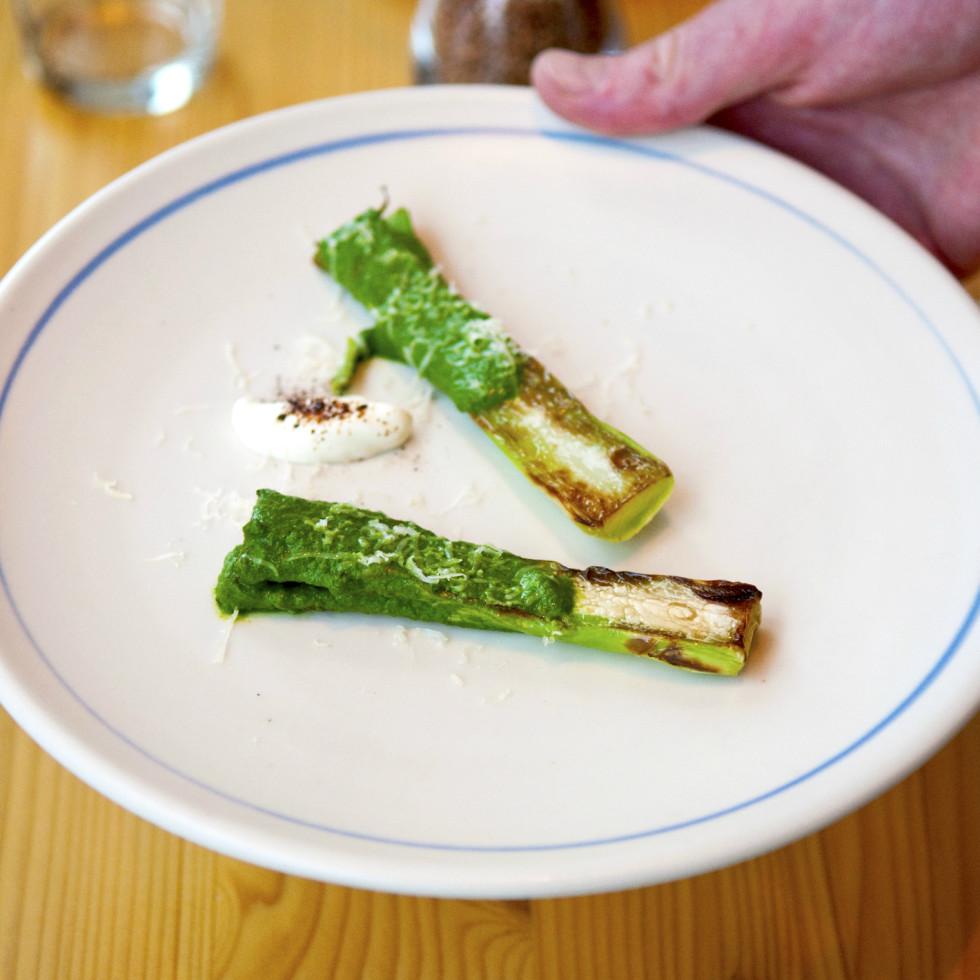 Emmer and Rye 2015 Austin restaurant dim sum broccoli cheese