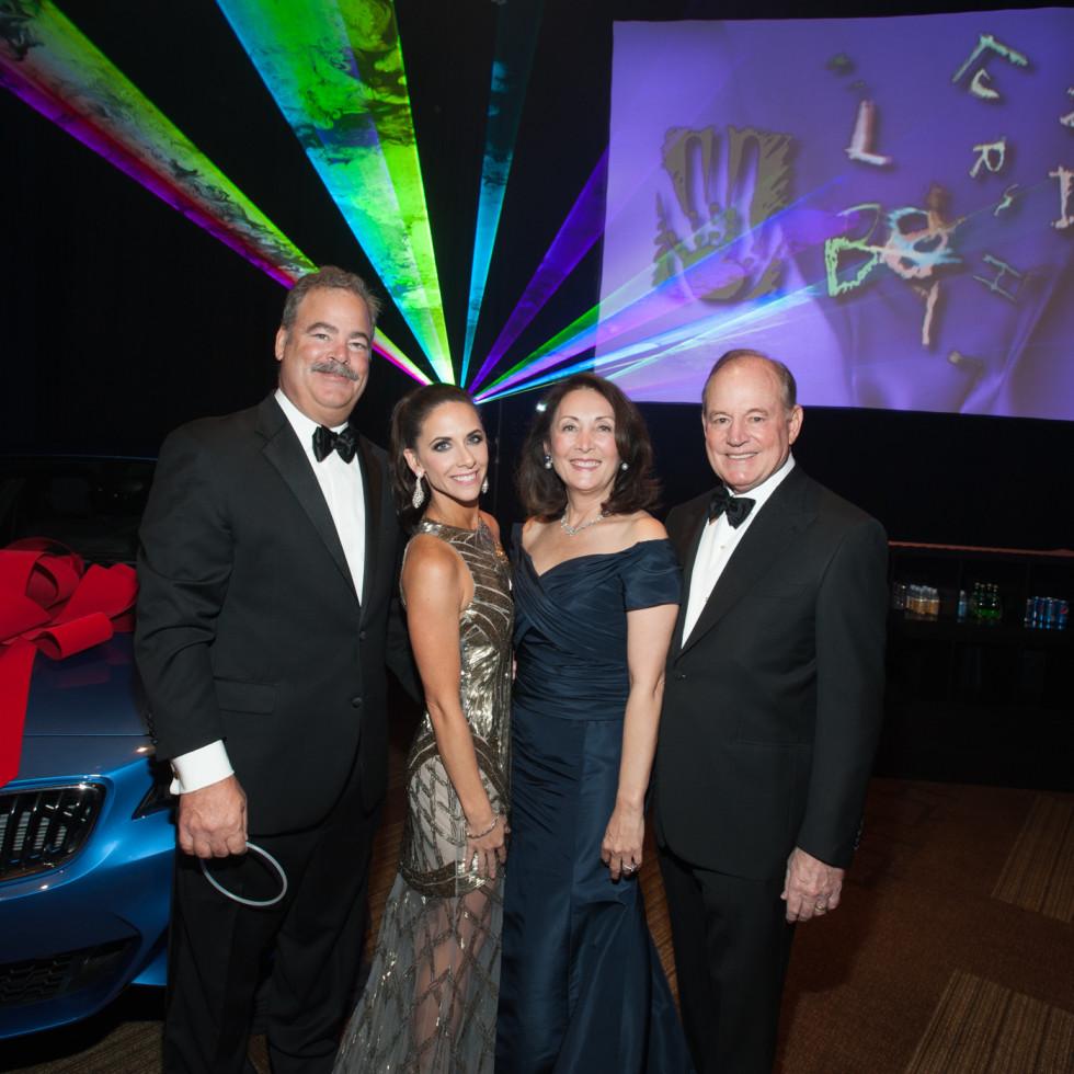 News, Shelby, Houston Children's Charity gala, NOv. 2015, Hannah & Cal McNair and HCC President, Penny Loyd & Paul Loyd, Jr.