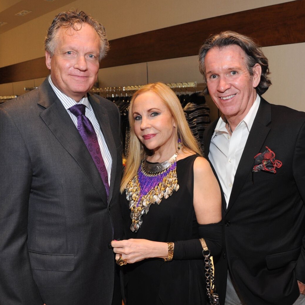 Liancarlo American Heart Association show at Elizabeth Anthony, Gordon Strobeck, Carolyn Farb, Peter Remington