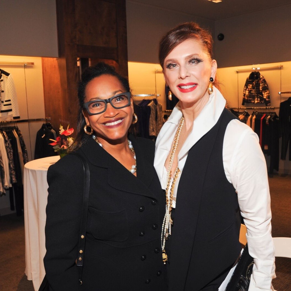 Anita Smith, Joan Ravasey at American Heart Association Liancarlo at Elizabeth Anthony