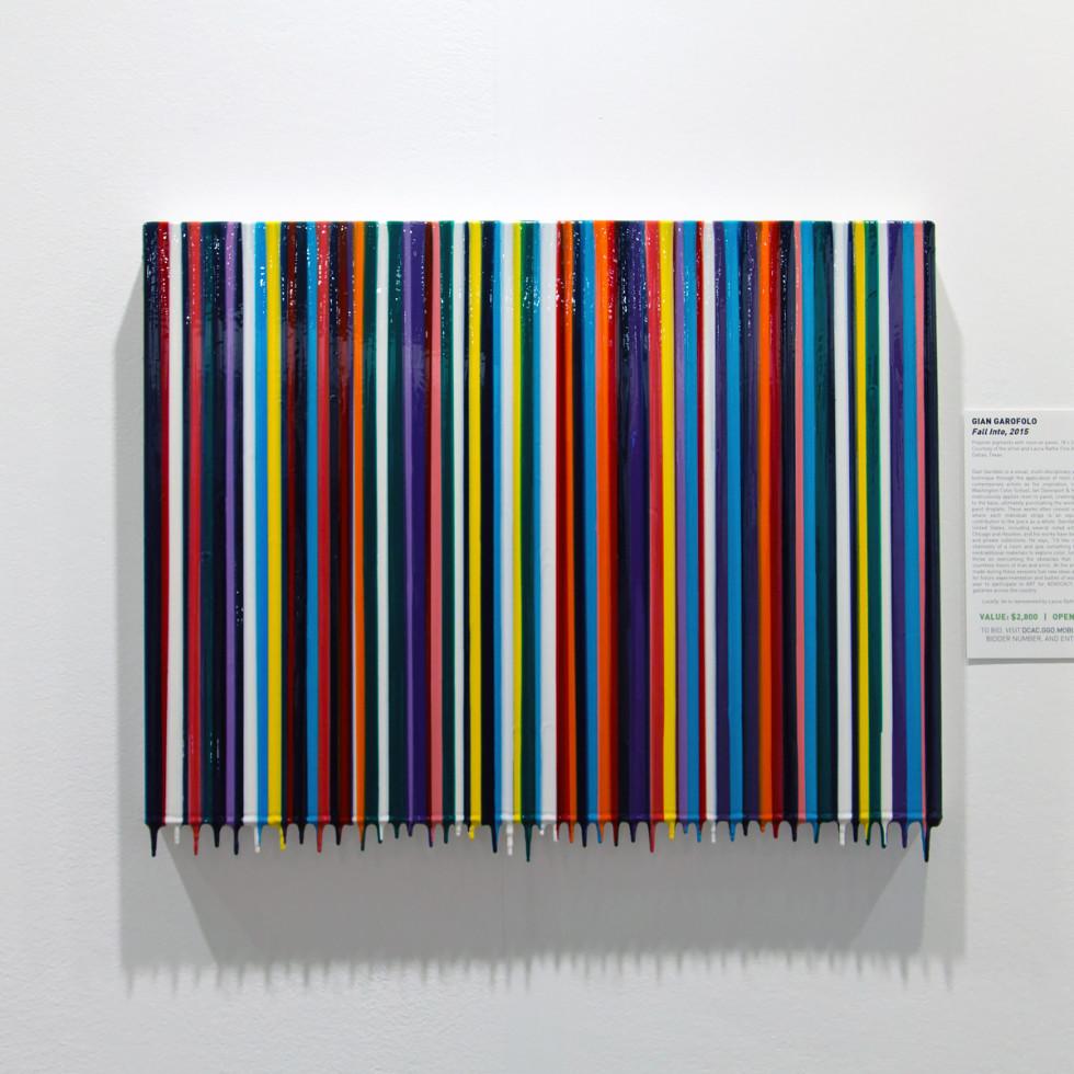 Gian Garofalo work at Art for Advocacy 2015