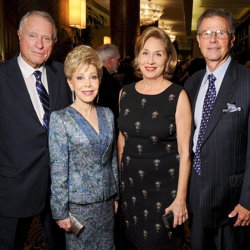 News, Shelby, MD Anderson Living Legend, Nov. 2015, Jim Daniel, Margaret Alkek Williams, Denise Bush Bahr, Philip Bahr