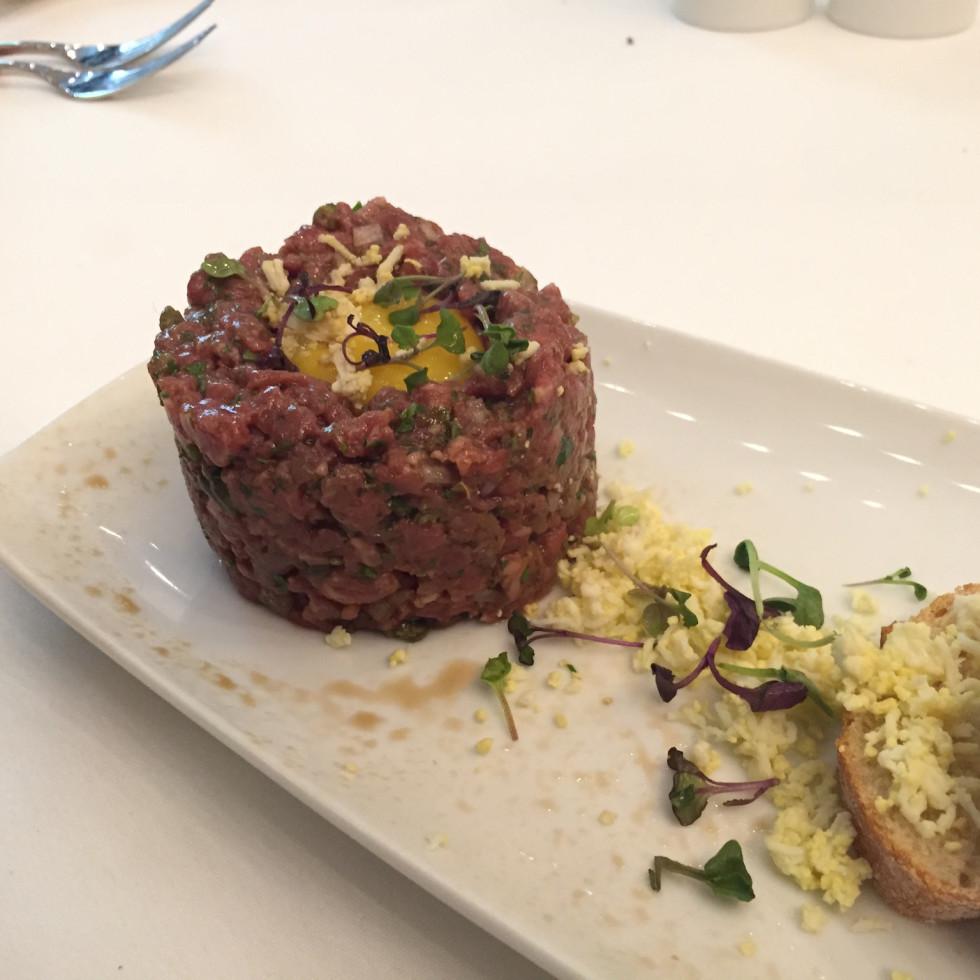Bistecca beef tartare