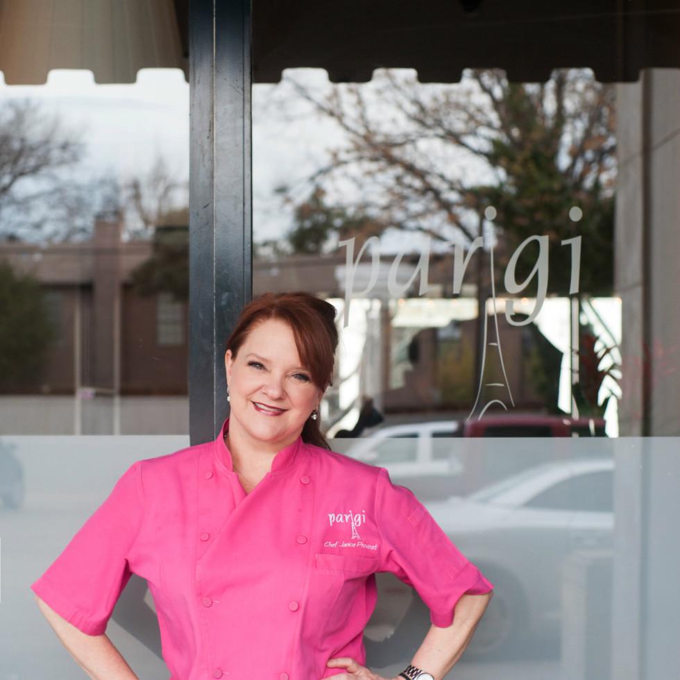 Chef Janice Provost Parigi restaurant in Dallas