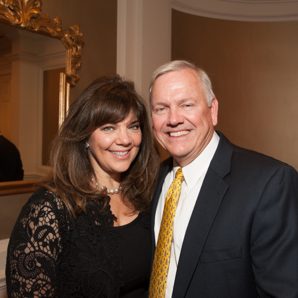 News, Shelby, Hospice Dinner, Oct. 2015, Terri Havens, John Havens