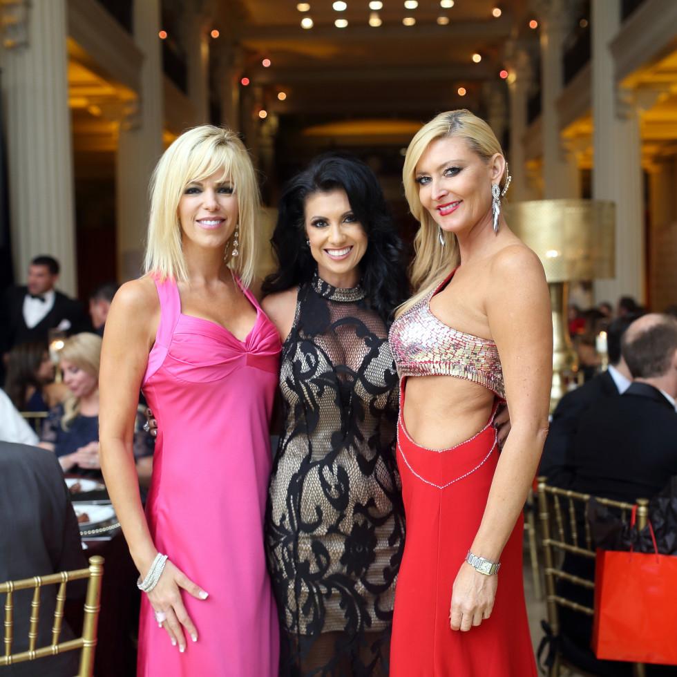 Houston, Jamies Hope Gala, October 2015, Amy West, Lois de Armas, Angela Lipsey