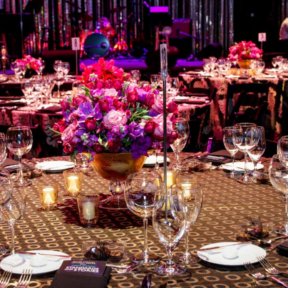News, Miller Outdoor Theatre gala, Oct.2015, Bergner Johnson decor