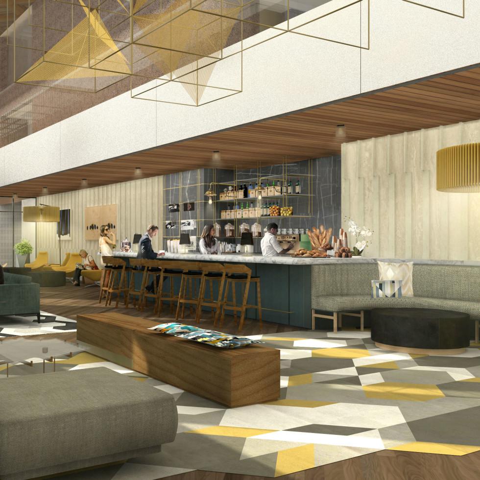 Fareground lobby rendering