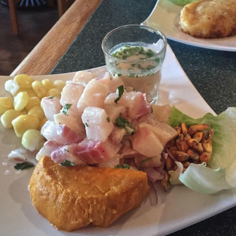 Lima Criolla ceviche