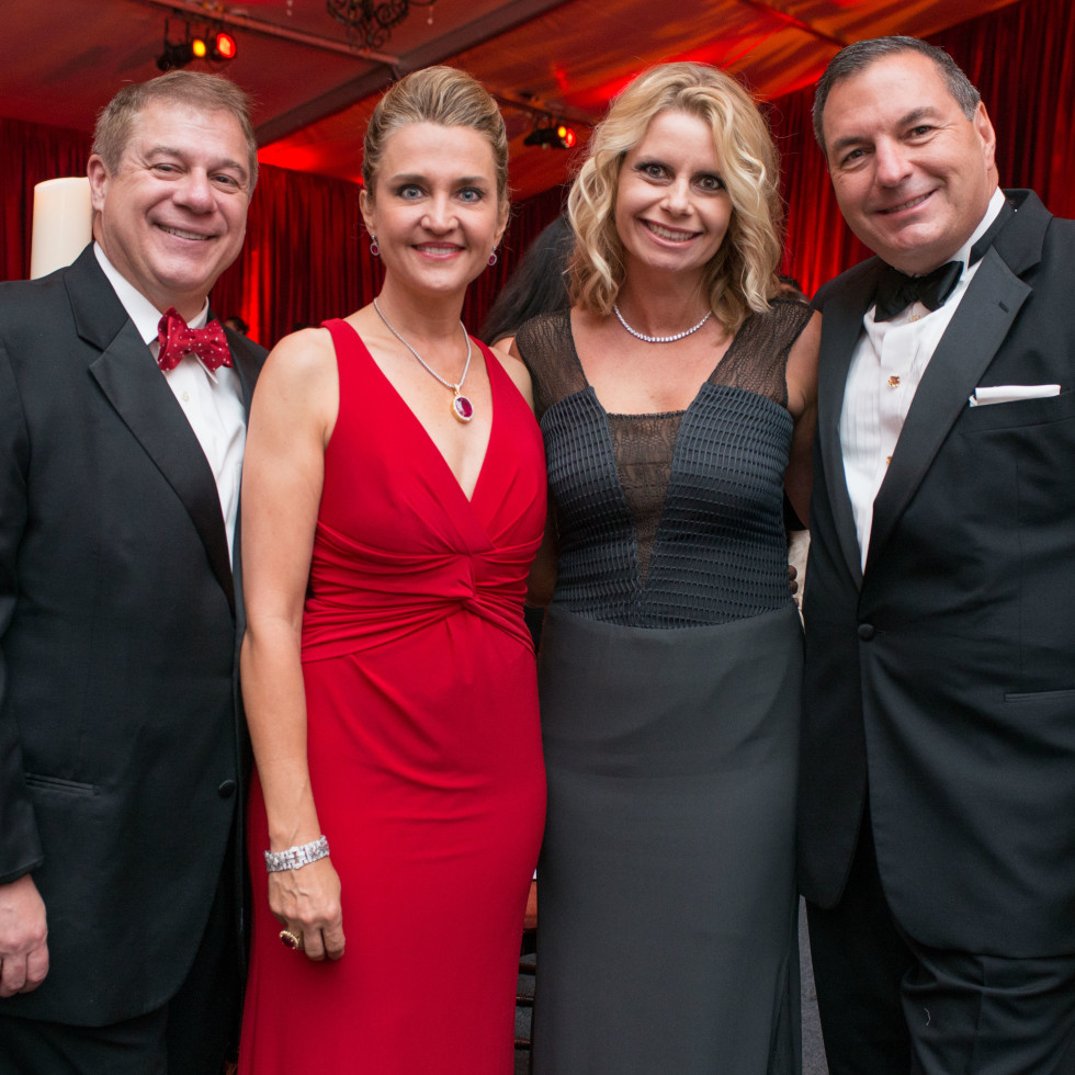 News, Shelby, HGO opening night, Oct. 2015, Dr. Mark D'Andrea, Mary D'Andrea, Valerie Dieterich, Tracy Dieterich