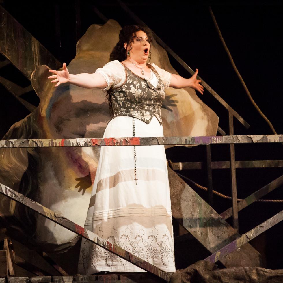 Liudmyla Monastyrska Houston Grand Opera Tosca