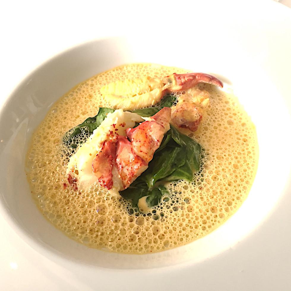 La Table lobster