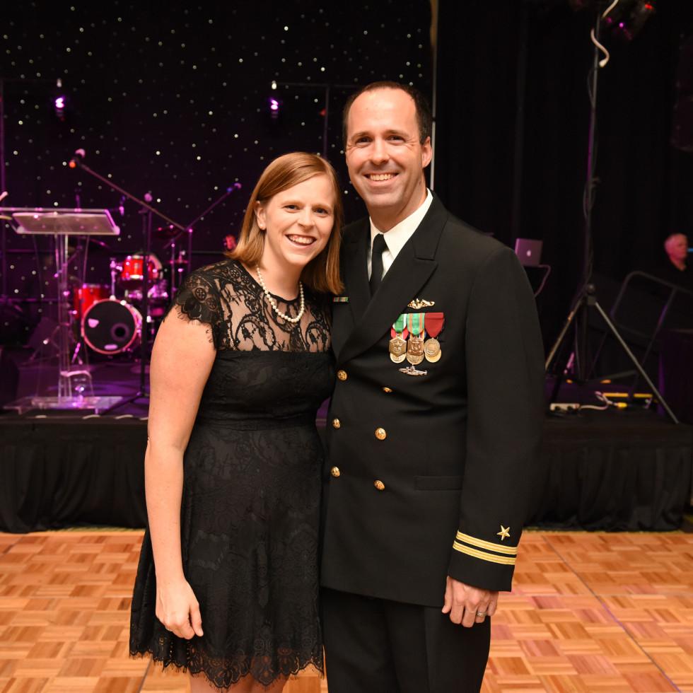 Houston, SER job for progress, October 2015, Ingrid and Michael Cribbs