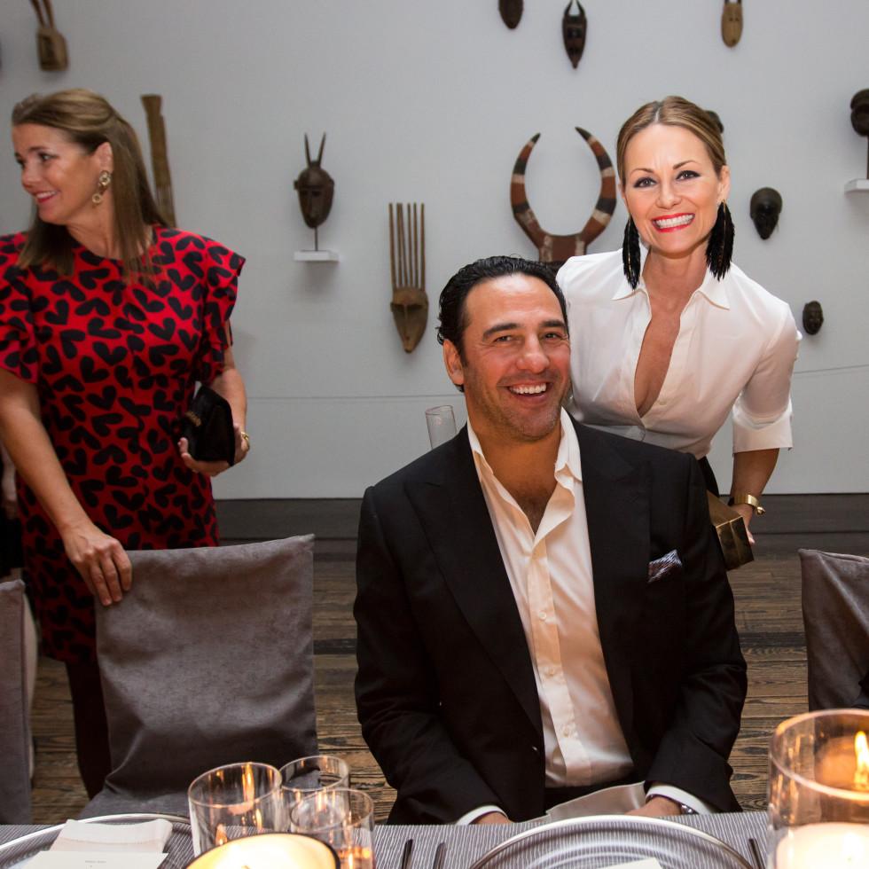 Tom Ford dinner Javier Loya, Lucinda Loya