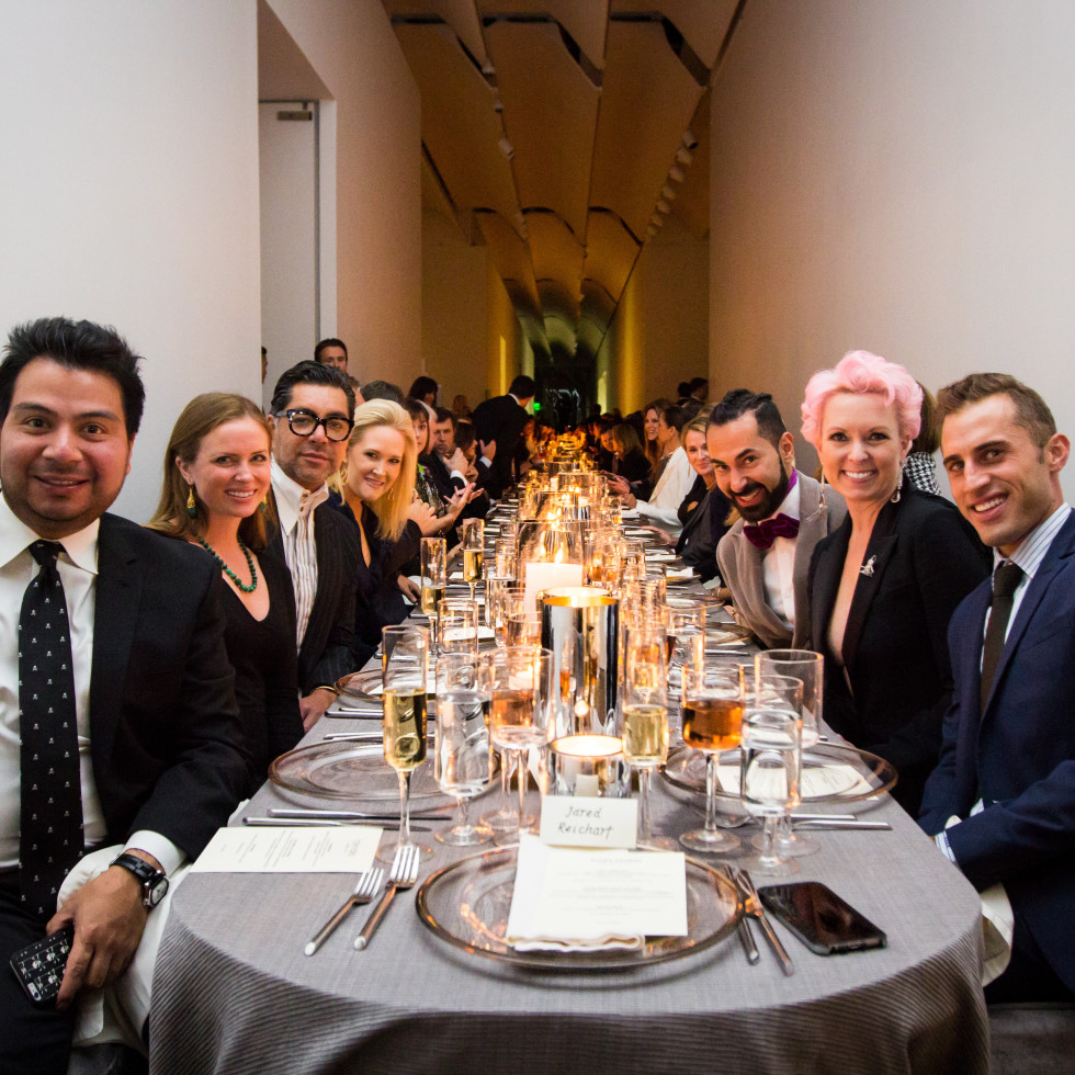 Tom Ford dinner Sergio Morales, Anne Lee Phillips, Ceron, Kelly Silvers, Fady Armanious, Vivian Wise, Michael Mandola