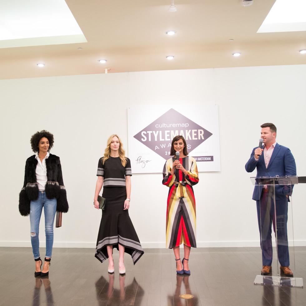Kendall Eckerd at the CultureMap Stylemaker Awards