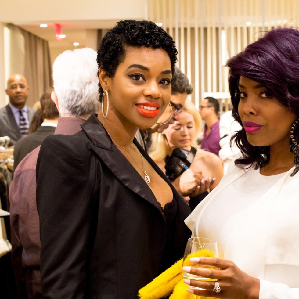 News, Shelby, Intermix opening, Oct. 2015 Javania White, Yendi Thompson