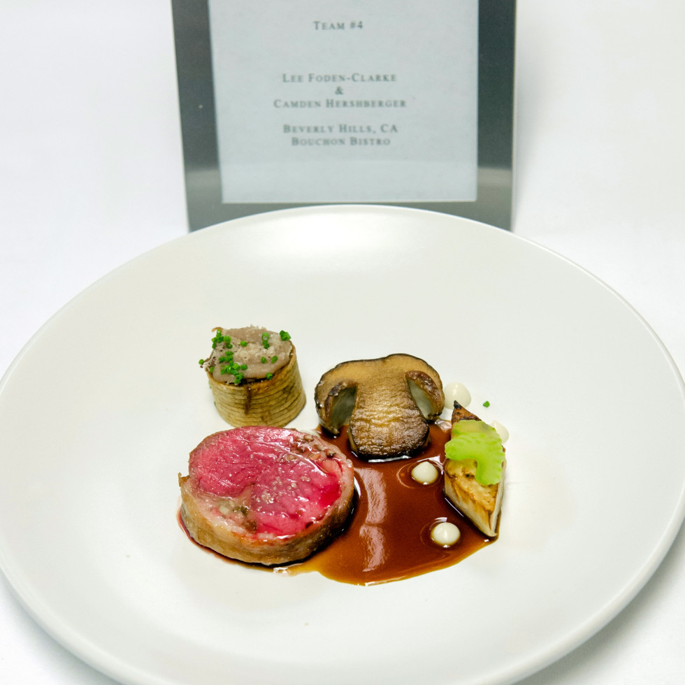 Houston, BKB Foundation Young Chef Competition, October 2015, winning dish