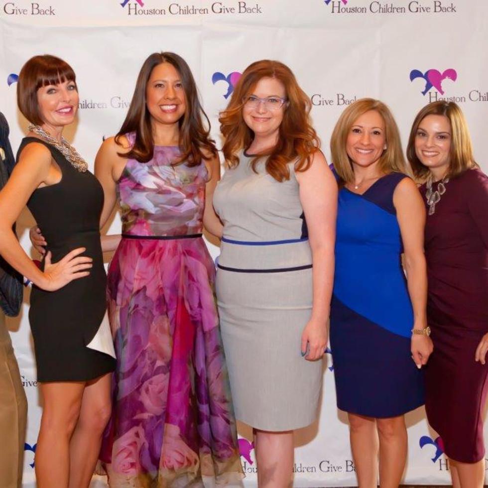 News, Shelby, Houston Children Give Back, Oct. 2015, Michael Pearce, Staci Henderson, Anika Jackson, Sheldon Kramer, Dena Winkler, Kerri Lynn Inglesby