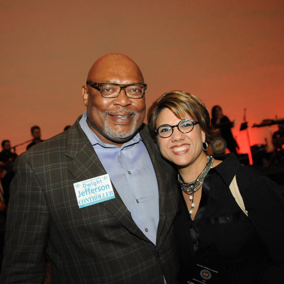 News, Shelby, Mayor's Hispanic Heritage Awards, Oct. 2015, Dwight Jefferson, Dee Dee Garcia