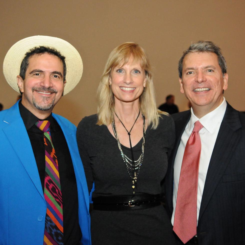 News, Shelby, Mayor's Hispanic Heritage Awards, Oct. 2015, Walter Suhr, Karen Garcia, Roland Garcia