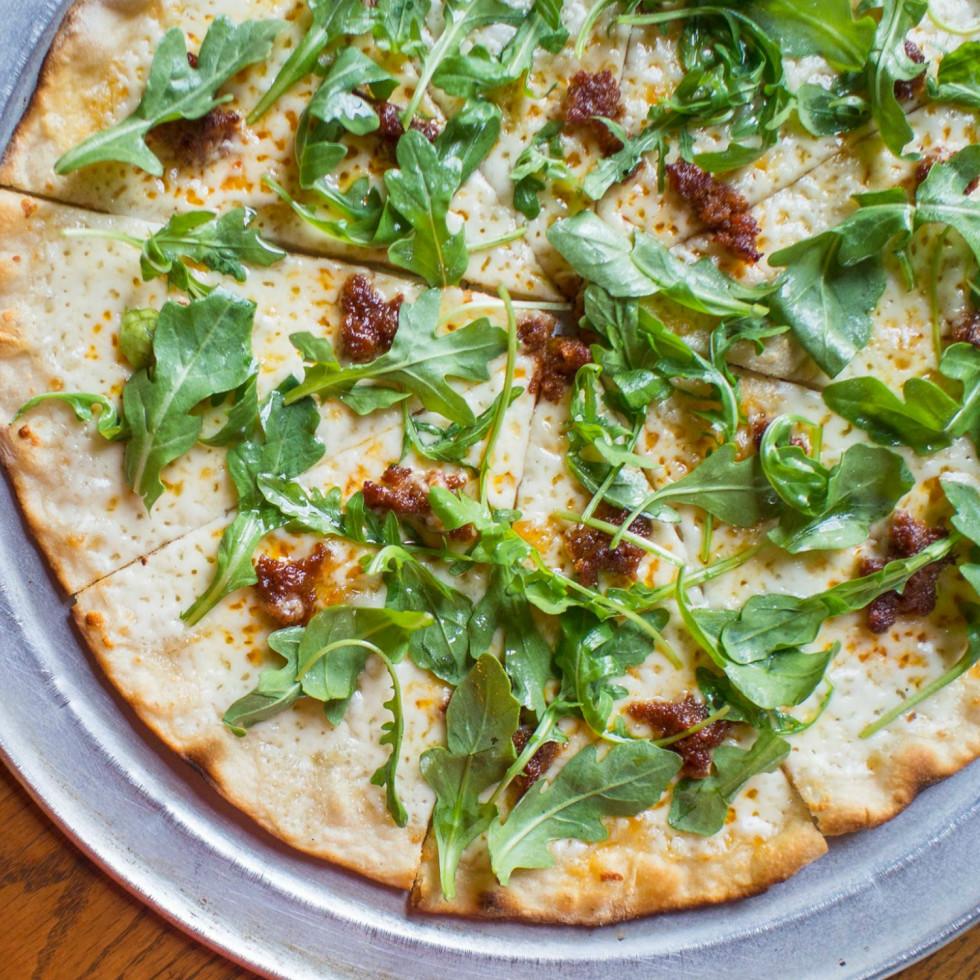 Burn Pizza + Bar Austin restaurant Roman style 2015