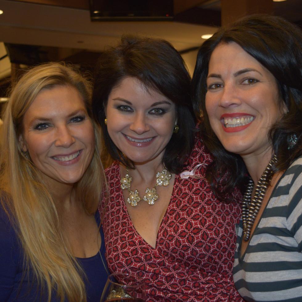 HLSR Trailblazers 2015 Rachel Guinn, Janeen Comer and Kacey White